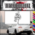Sports Mascot Wall Decal - Vinyl Decal - Car Decal - SM037