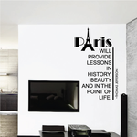 Paris Will Provide Lessons in History Thomas Jefferson Decal