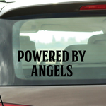 Powered By Angels Decal