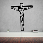 Jesus On the Cross Decal