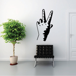 Peace Sign Hands Decal