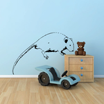 Rodent Crawling Decal