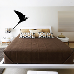 Flapping Wings Egret Decal