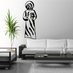 Praying Jesus Decal