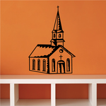 Cathedral Church Decal