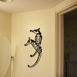 Seahorse Couple Decal