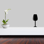 Wine Glass Full Decal