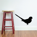 Standing Parrot Decal