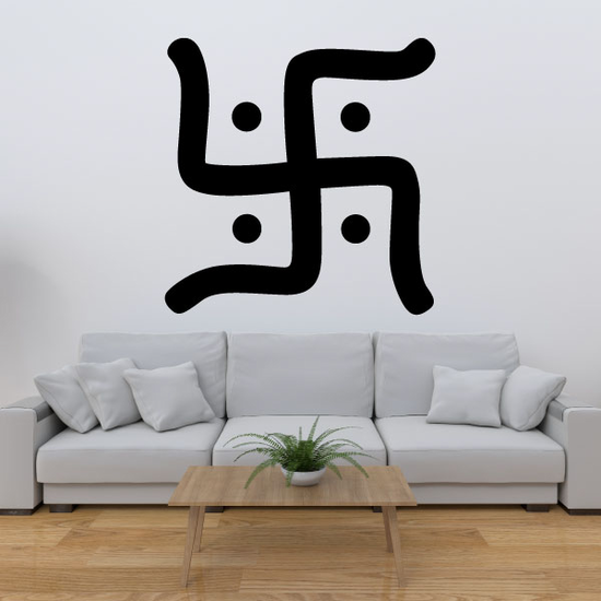 Jainism Swastika Decal