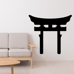 Shinto Japan Torii Gate Decal