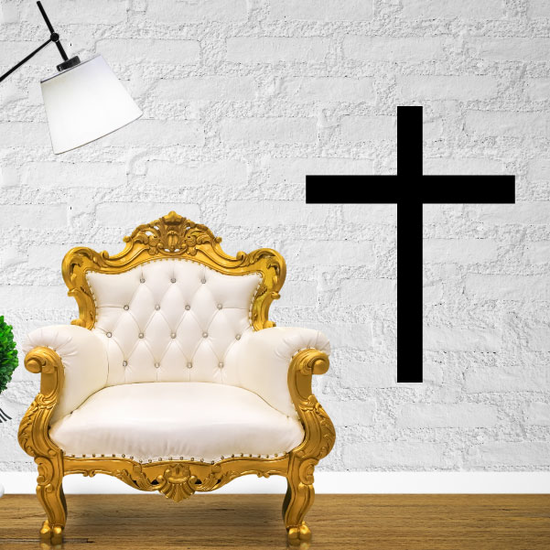 Christianity Latin cross Decal