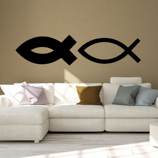 Christianity Ichthys fish Decal