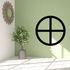 Gnosticism Sun cross Decal