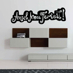 anul nou fericit Romanian Happy New Year Wall Decal - Vinyl Decal - Car Decal - MC018