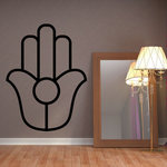 Kappu palm of hand Natib Qadish Decal