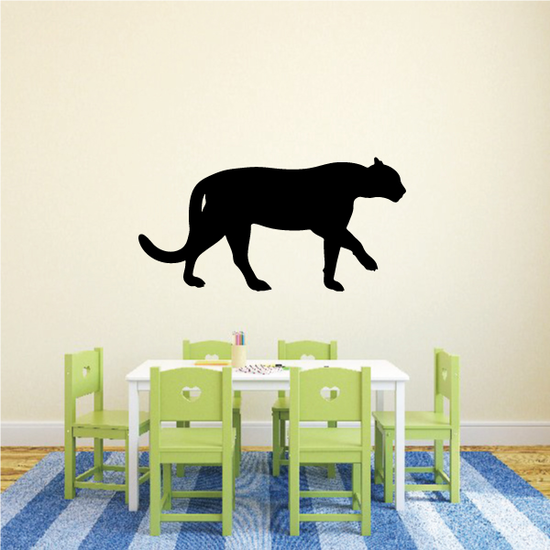 Mountain Lion Walking Decal
