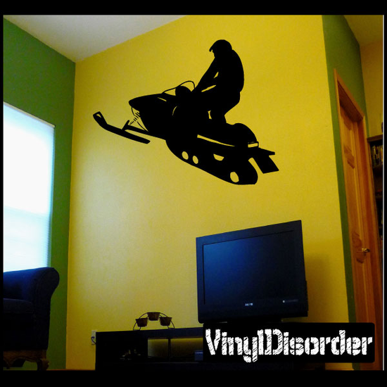 Simple Snowmobile Decal