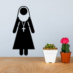 Sister Nun Decal