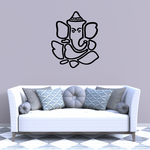 Ganesh Outline Decal