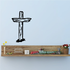 Wooden Cross Decal