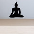 Buddha Sitting Decal