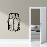 Motorcycle Leather Vest Decal