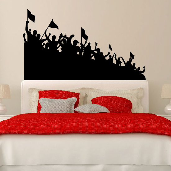 Raging Crowd Decal
