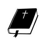 Holy Bible King James Version Decal