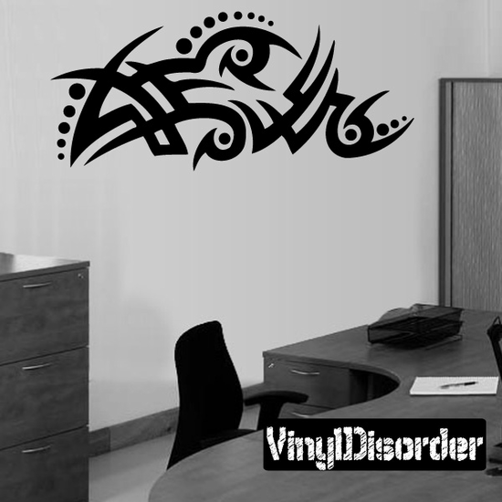 Classic Tribal Wall Decal - Vinyl Decal - Car Decal - DC 042