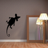 Mouse Silhouette Decal