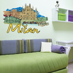 Milan Sticker