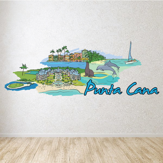 Punta Cana Sticker