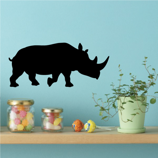 Strolling Rhino Decal
