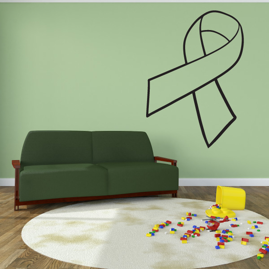 Ribbon Outlined Regular Decal