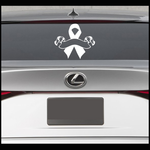 Ribbon Scroll Decal