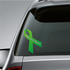 Aging Research Awareness Ribbon Vinyl Sticker