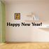Happy New Year English Decal