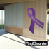 Chronic Pain Awareness Ribbon Vinyl Sticker