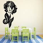 Illustrated Mermaid Decal