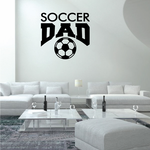 Soccer Dad Decal