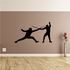 Touch Fencing Decal