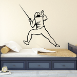 In Guard Fencing Decal