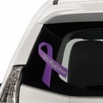 Peripheral Neuropathy Awareness Ribbon Vinyl Sticker