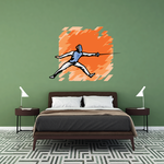 Fencing Wall Decal - Vinyl Sticker - Car Sticker - Die Cut Sticker - SMcolor005