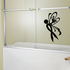 Ribbon Left Butterfly Decal