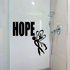 Hope Butterfly Ribbons Decal