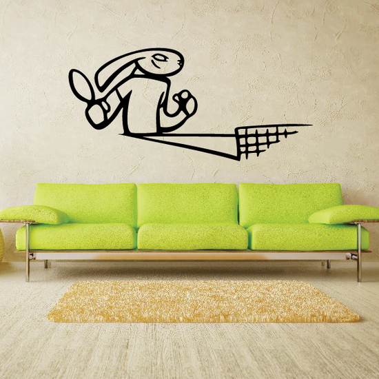 Ping Pong Wall Decal - Vinyl Decal - Car Decal - CDS001