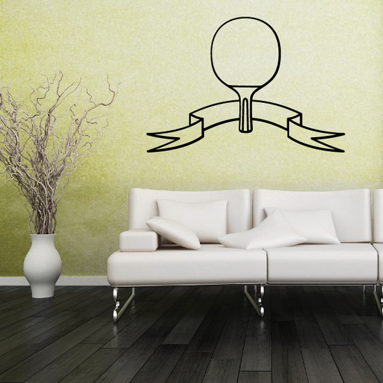 Ping Pong Wall Decal - Vinyl Decal - Car Decal - CDS007