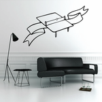 Ping Pong Wall Decal - Vinyl Decal - Car Decal - CDS010