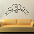 Ping Pong Wall Decal - Vinyl Decal - Car Decal - CDS011